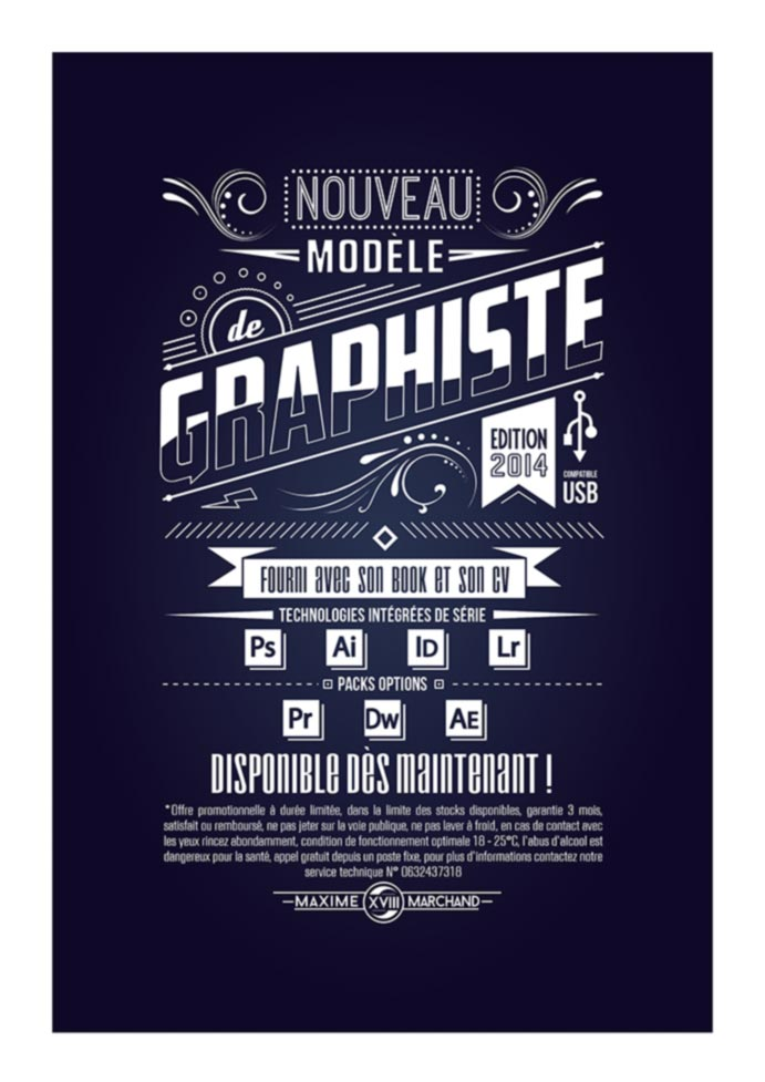CANDIDATURE GRAPHISTE